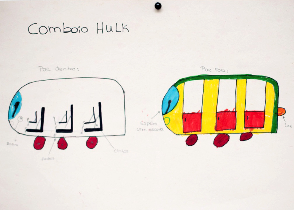 Comboio Hulk 6
